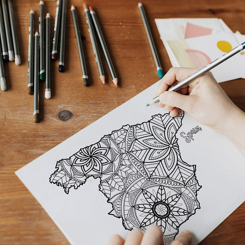 spain coloring pages | Coloring pages for adults | Coloring pages for kids | spain map coloring sheets | spain map coloring page | spain coloring page