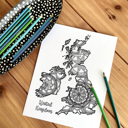 Map of UK | Map of England | Map Art | Travel Gift Ideas | UK City Map | Map Wall Art | United Kingdom Map | England Map