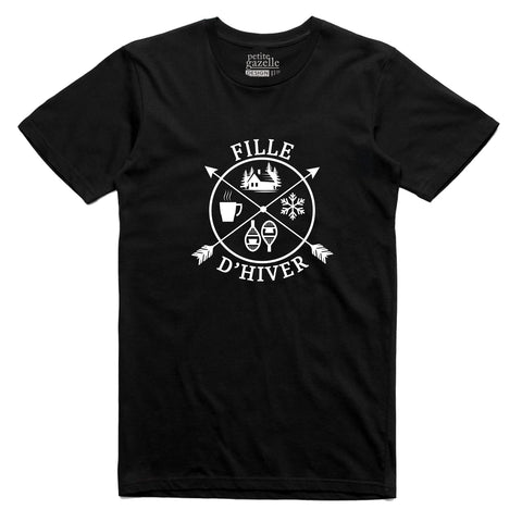TSHIRT COL ROND | Fille d'hiver