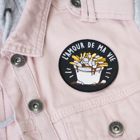 Patch Poutine 3""