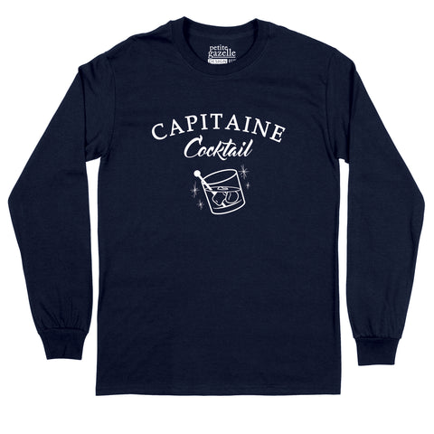 T-Shirt à manches longues | Capitaine Cocktail