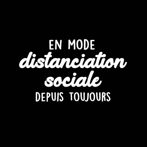 En mode distanciation sociale