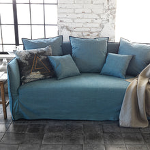 【Clearance】 My Signature Londoner (런더너) 3 Seater Sofa (Mint Black)