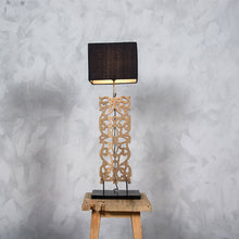 LITTONT R.Teakwood Table Lamp
