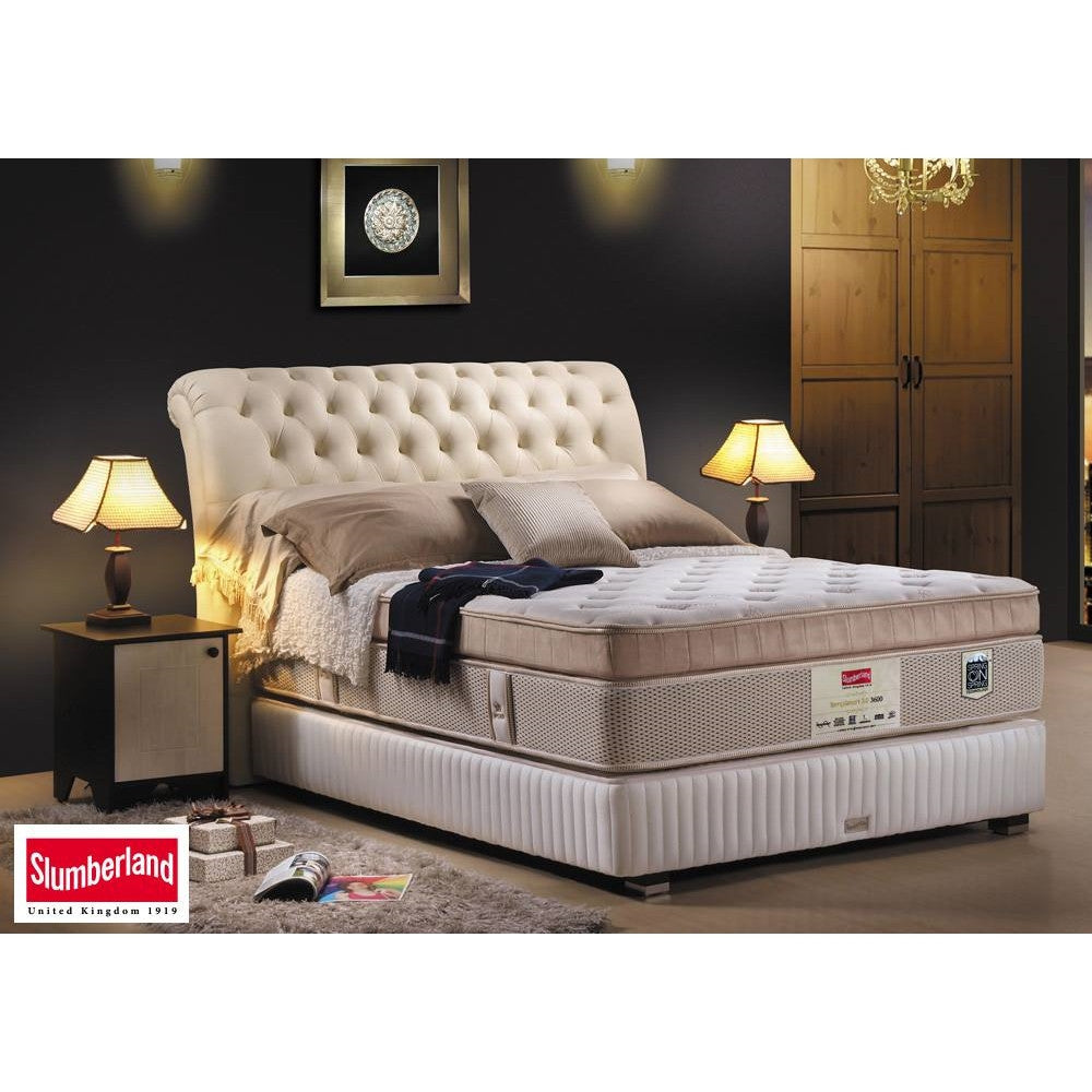 bowerbird home slumberland furniture temp bed smart ii headboards single deluxe beds tempsmart mattress