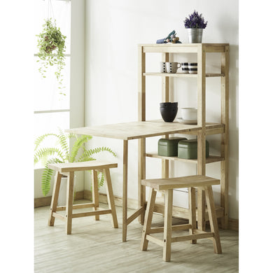 DERRY Gateleg Dining Set (1+2)