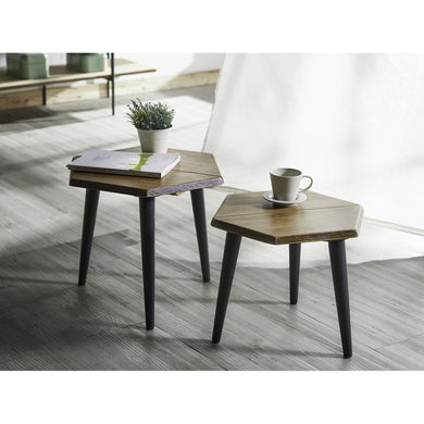 【PRE-ORDER】 HEXAGON Nesting Table Set