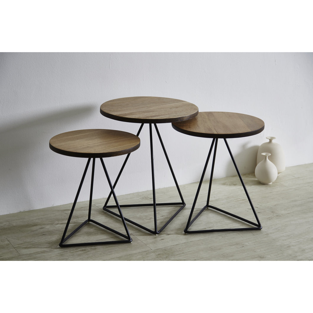 【PRE ORDER】 TRIANGLE Nesting Table Set