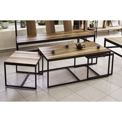 【PRE-ORDER】 JACOB 3 in 1 Coffee Table Set