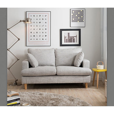 【Clearance】 DEFINITE Fabric Sofa by FUN LIFE (Grey)