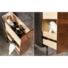 Tyme (천천히해) Extendable Wide 3-Drawer Chest Set w/ Mirror & Stool