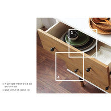 My Signature Londoner (런더너) 6-Drawer Wide Chest w/ Mirror
