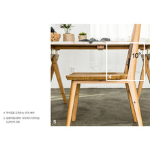 My Signature Londoner (런더너) Chair A (Rustic) (2 pcs)