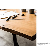 My Signature Londoner (런더너) 5-pcs Dining Set (Wood slab)