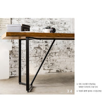 My Signature Londoner (런더너) Dining Table 1800 (Wood slab)