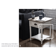 【PRE-ORDER】 My Signature Parisienne (파리지엔느) Side Table (Cream)