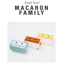 【Clearance】 Joy Crab Tissue Case - Macaron (마카롱)  Family