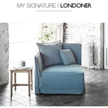 【Clearance】 My Signature Londoner (런더너) 1 Seater (R) Sofa (Mint Black)