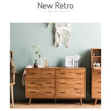 New Retro (뉴레트로) 6-Drawer Wide Cabinet
