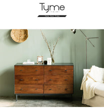 Tyme (천천히해) 6-Drawer Wide Chest