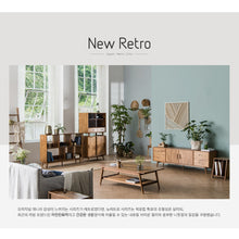 New Retro (뉴레트로) Console Table w/ Mirror & Stool