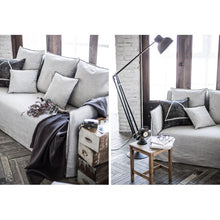 【Clearance】 My Signature Londoner (런더너) 1R+3 Seater Sofa (Woven Beige)