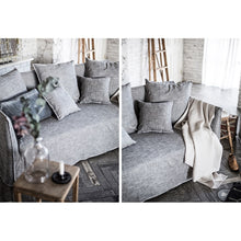 【Clearance】 My Signature Londoner (런더너) 3 Seater Sofa (White Black)
