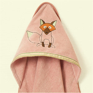 Hooded Towel - Playful Fox