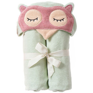 Bath Wrap - Sleepy Owl