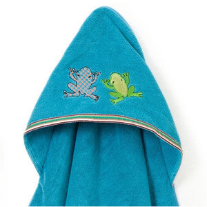Hooded Towel - Silly Frog