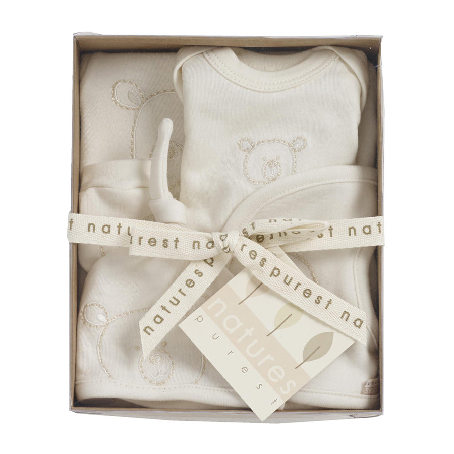 Organic Prem Baby 5 Piece Set - Cream