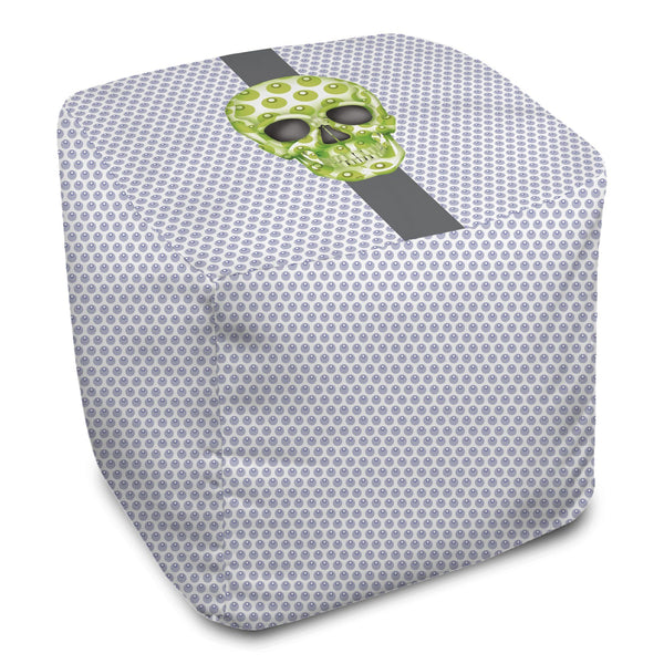 Bean Bag Cube - Skull Luna Stripe Lavender/Lime Shop All MWW