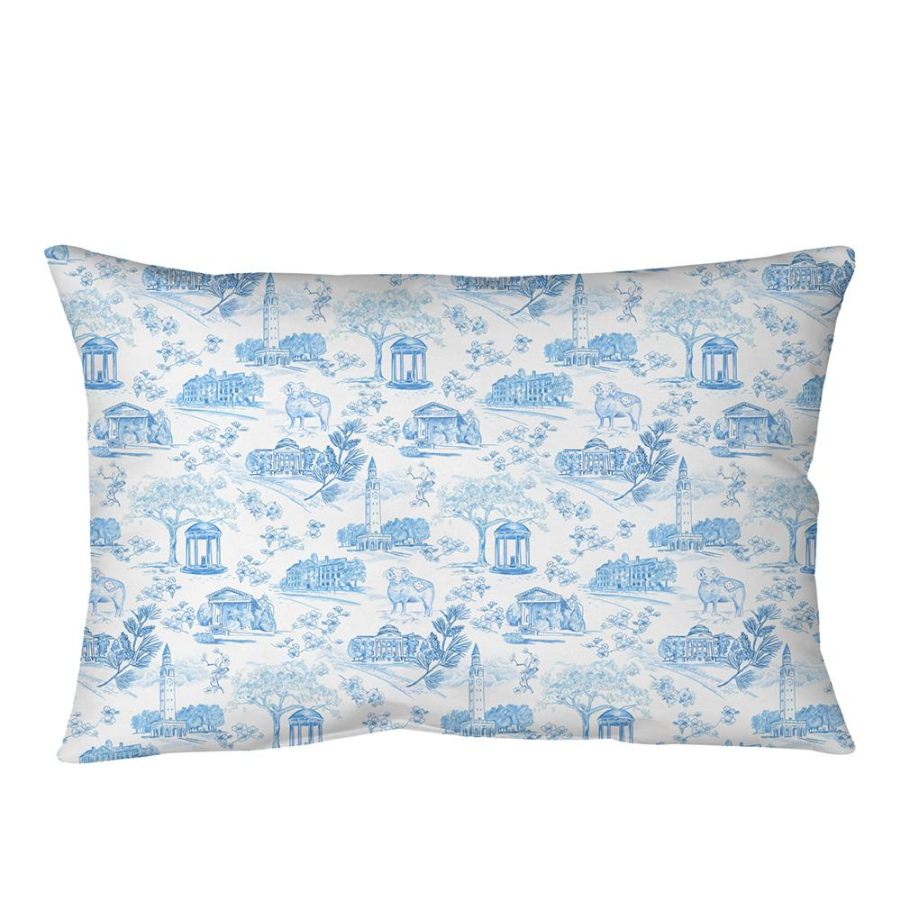 Bolster Pillow - Tarheel Toile MWW