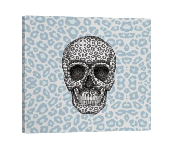 Canvas - Skull Tanzania Nero/Peacock Shop All MWW 16 x 16