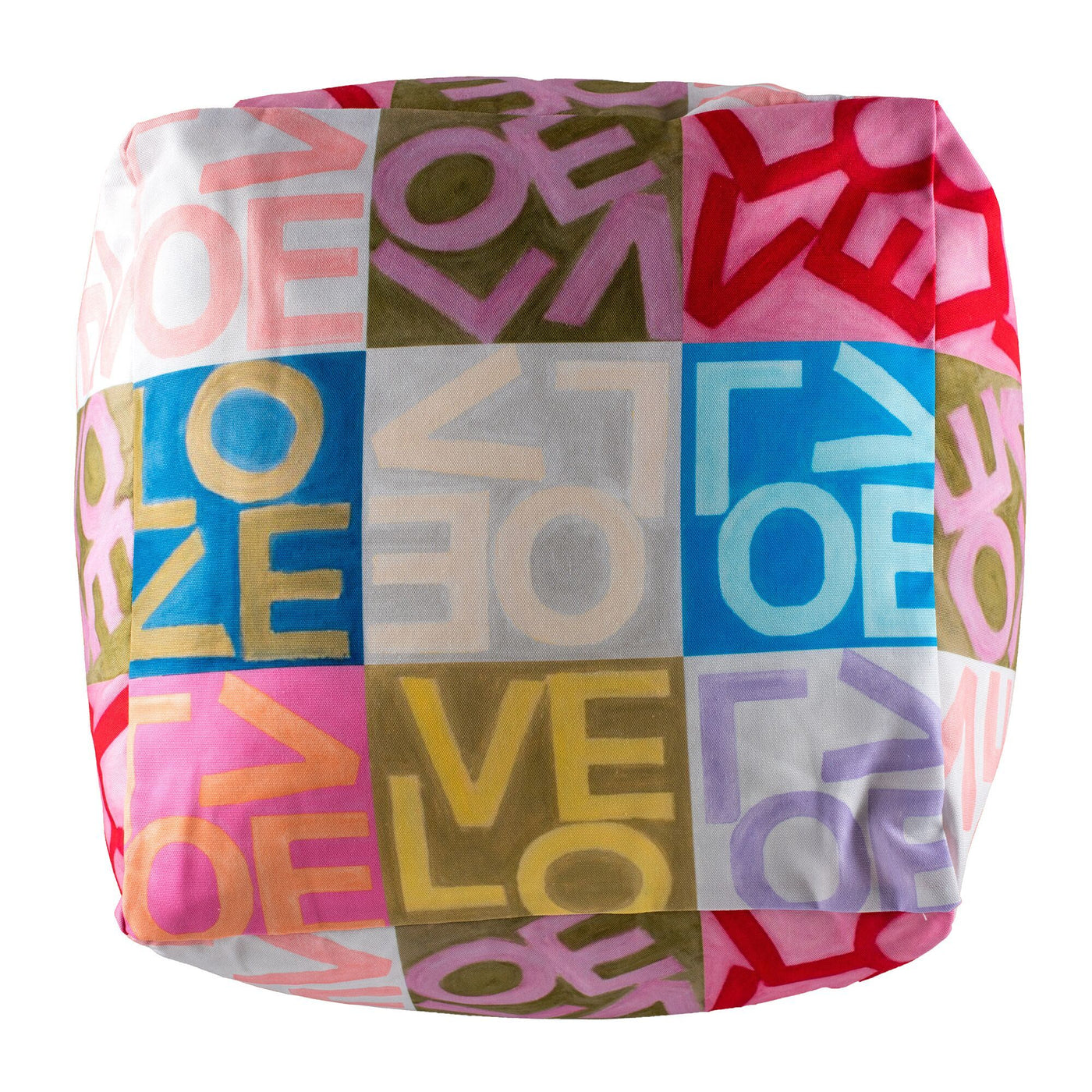 Crazy Love - Multi - Bean Bag Cube Shop All MWW