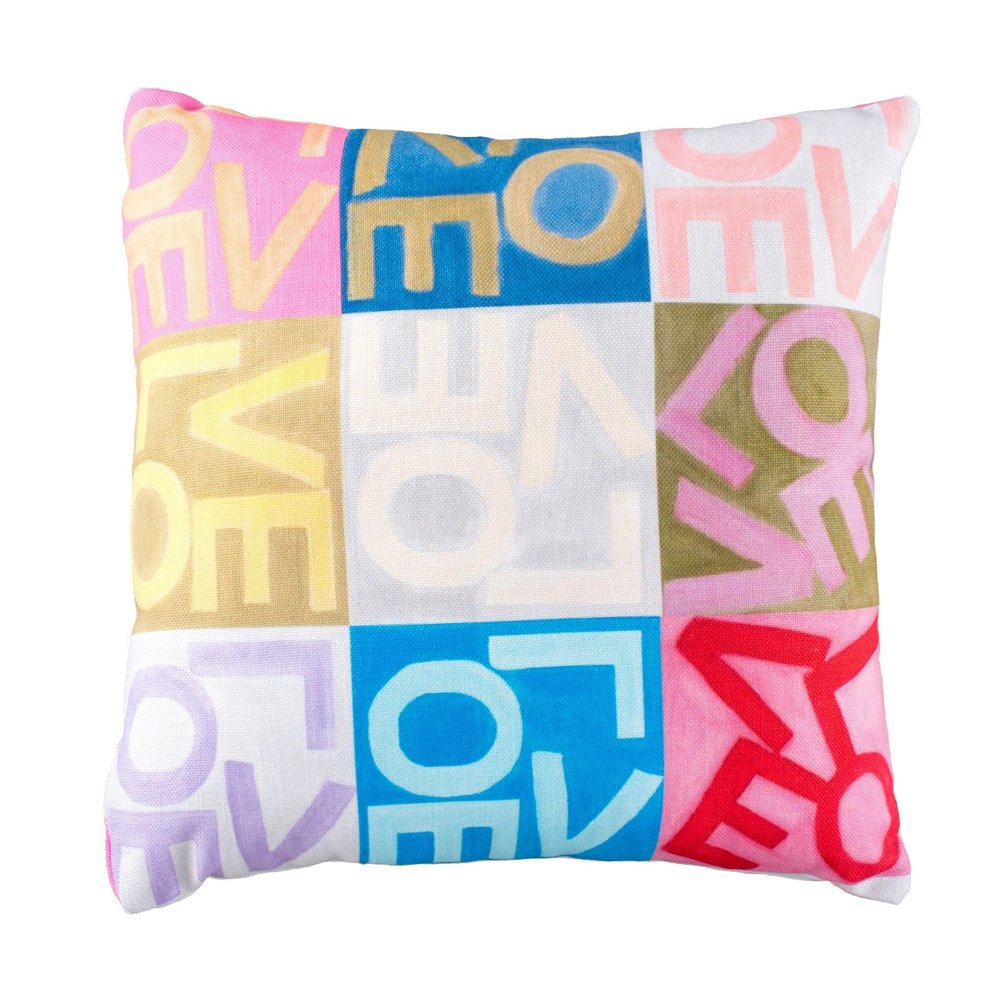 Crazy Love - Multi - Throw Pillow Shop All MWW