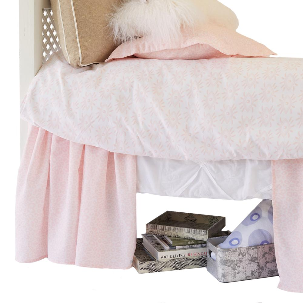 Curtain Call Bed Skirt - Tanzania Millennial Bedding Collections,Shop All Springs Twin XL