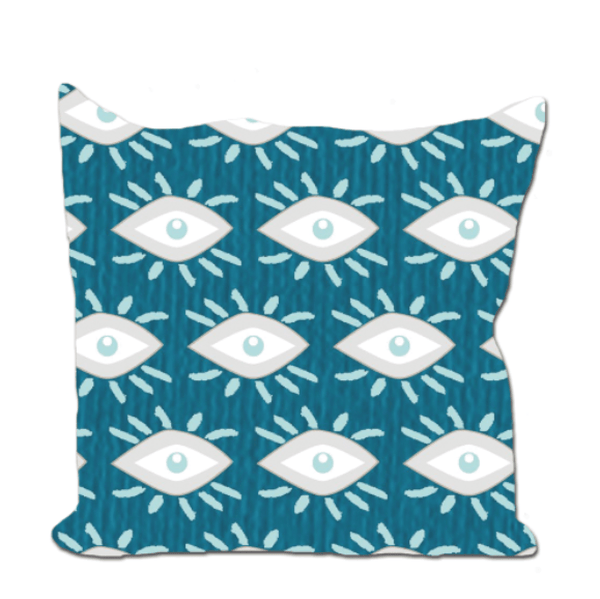 Euro/Floor Pillow - Mascara Peacock Shop All MWW