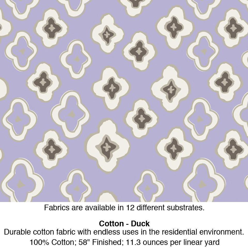 Fabric by the Yard - Dixon Lilac Springs Cotton - Duck