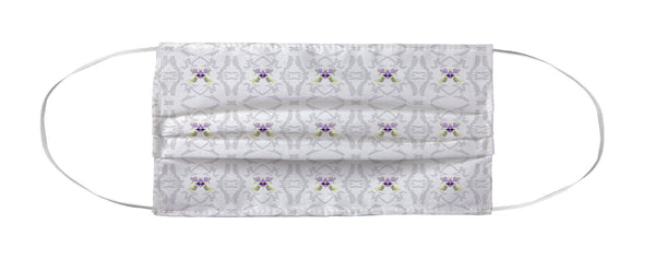 Face Mask Coverlet - Flutter Thistle by Laura Park & Leigh Goodwyn MWW