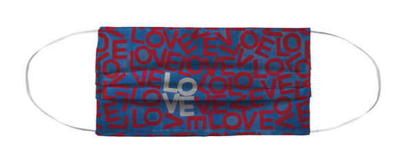 Face Mask Coverlet - Layers of USA Love MWW