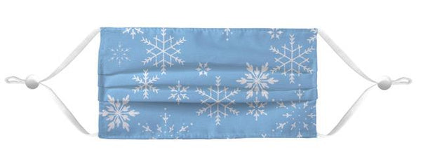 Face Mask Coverlet - Merry Mask Blue Shop All MWW