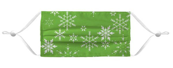 Face Mask Coverlet - Merry Mask Green Shop All MWW