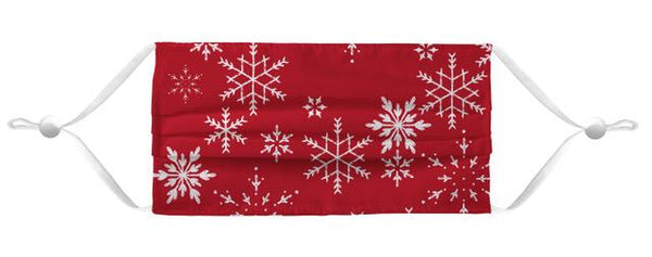 Face Mask Coverlet - Merry Mask Red Shop All MWW