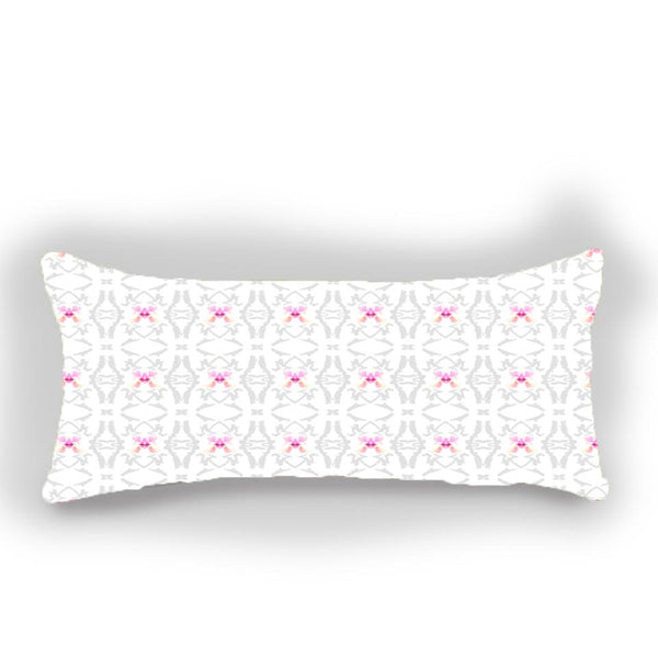Flutter - Pink Monarch - Bolster Pillow Shop All,Last Call SALE,Bedding Collections MWW