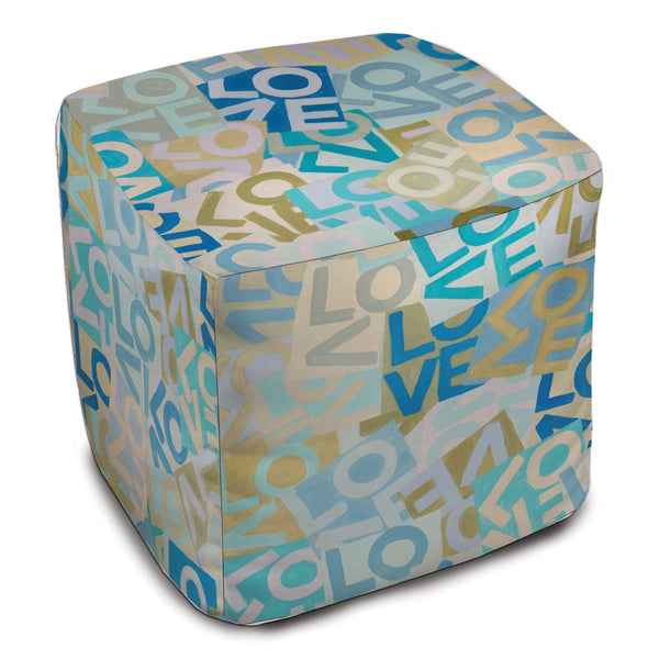 Layers of Love - Blues - Bean Bag Cube Shop All MWW