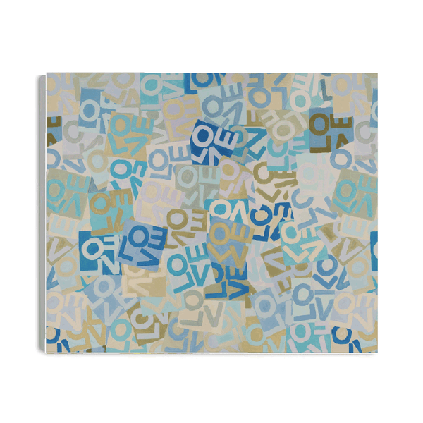 Layers of Love - Blues - Canvas Shop All MWW