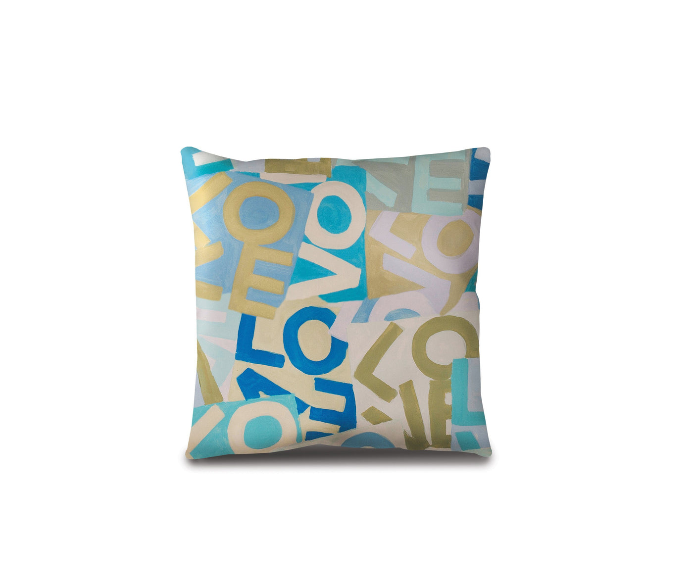 Layers of Love - Blues - Floor Pillow Shop All MWW