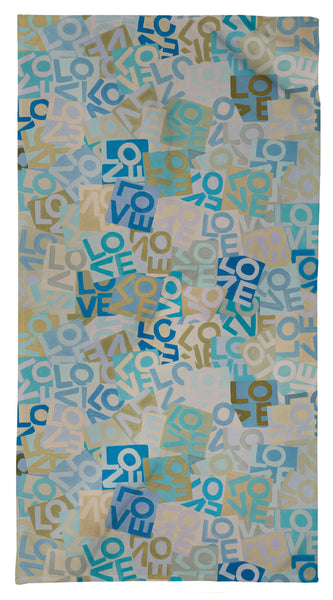 Layers of Love - Blues - Resort Towel Shop All MWW