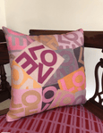 Layers of Love - Pinks - Throw Pillow Shop All MWW